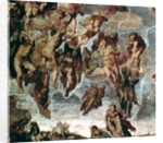 The Righteous Drawn up to Heaven, detail from 'The Last Judgement', in the Sistine Chapel by Michelangelo Buonarroti