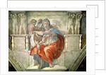 Sistine Chapel Ceiling: Delphic Sibyl by Michelangelo Buonarroti