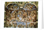 Last Judgement by Michelangelo Buonarroti