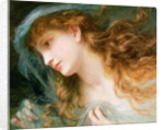 Head of a Nymph by Sophie Anderson