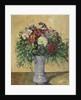 Bouquet of Flowers in a Vase by Paul Cezanne