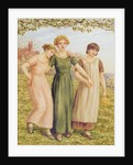 Three Young Girls by Kate Greenaway