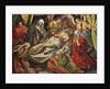 Entombment of Christ, Villabranca by Flemish School