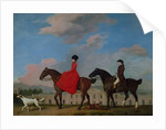 John and Sophia Musters riding at Colwick Hall by George Stubbs