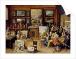 Pictura, Poesis and Musica in a Pronkkamer by Frans II the Younger Francken
