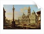 Santa Maria Maggiore, Rome by Bernardo Bellotto