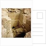 Palace ruin by Sumerian
