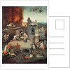 Temptation of Saint Anthony by Hieronymus Bosch