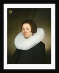 Portrait of Johanna van Diemen, aged 61 by Jacob Gerritsz Cuyp