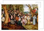 Landscape with St. John the Baptist Preaching by Pieter the Younger Brueghel