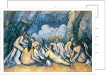 The Large Bathers by Paul Cezanne