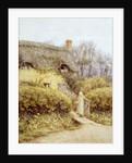 Cottage near Freshwater by Helen Allingham