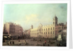 Northumberland House by Canaletto