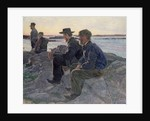 On the Rocks at Fiskebackskil, 1905-6 by Carl Wilhelm Wilhelmson