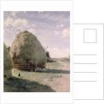 Haystacks by Johan Fredrik Krouthen