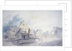 East Bergholt Street, East Bergholt by John Constable