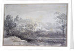 A View in Derbyshire by John Constable