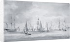 Shipping in the Thames by John Constable