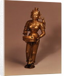 Lamp in the form of Goddess of Fortune, South Indian by Indian School