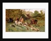 Mary Stuart hunting by Eugene-Louis Lami