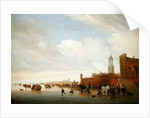 Winter scene near Utrecht by Salomon van Ruisdael or Ruysdael