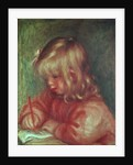 Child Drawing by Pierre Auguste Renoir