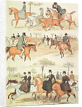 Riding Side-saddle by Randolph Caldecott