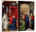 The Annunciation and the Presentation in the Temple by Rogier van der Weyden