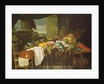 Banquet Still Life by Andries Benedetti
