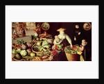 Vegetable Market by Lucas van Valckenborch