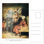Scrooge and The Ghost of Marley by Arthur Rackham