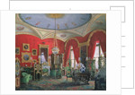Interior of the Winter Palace by Eduard Hau