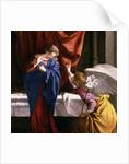 The Annunciation by Orazio Gentileschi