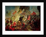 King Stephan IV Batory besieging Pskov in 1581 by Karl Pavlovich Bryullov