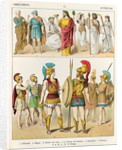 Greek Religious and Military Dress by Albert Kretschmer