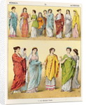 Female Roman Dress by Albert Kretschmer
