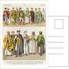 Dress at the Byzantine Court, 300-700 by Albert Kretschmer