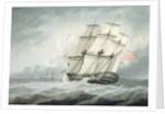 The Frigate by Samuel Atkins