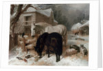 Farmyard Scene by John Frederick Herring Snr