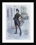 Mr. Alfred Jingle by Frederick Barnard