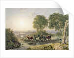 Landscape with Drovers by George the Younger Barret