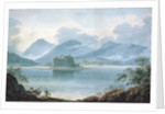 View across Loch Awe, Argyllshire, to Kilchurn Castle and the Mountains beyond by R.S. Barret
