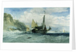 Fishing Boats off the Isle of Wight by Charles Bentley
