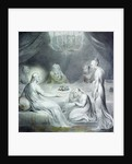 Christ in the House of Martha and Mary or The Penitent Magdalen by William Blake