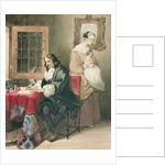 The Letter by Richard Parkes Bonington