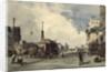 Quai de la Greve, Paris, in 1837 by Thomas Shotter Boys