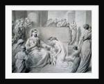 Christ Blessing Little Children by Warwick Brookes