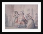 Falstaff's Escape by Henry William Bunbury