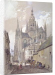 Bayeux Cathedral, View from the South East by John Burgess