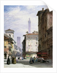 Leaning Tower, Bologna by William Callow